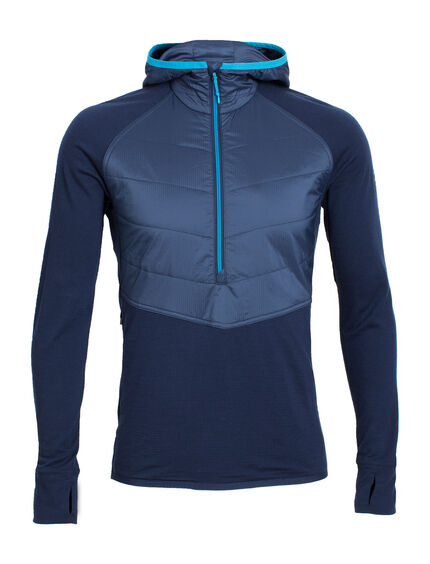 Ellipse Long Sleeve Half Zip Hood