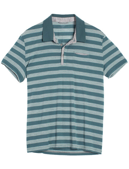 Quattro Short Sleeve Polo Stripe