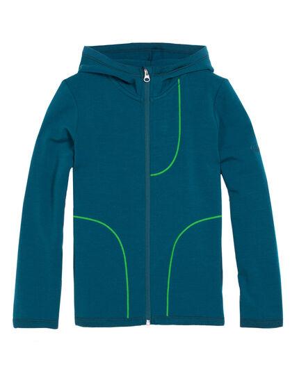 Camper Long Sleeve Zip Hood