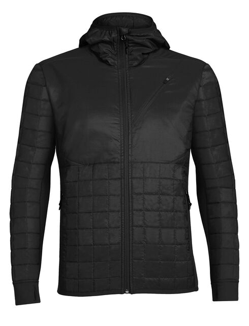 Men's MerinoLOFT Helix Long Sleeve Zip Hood