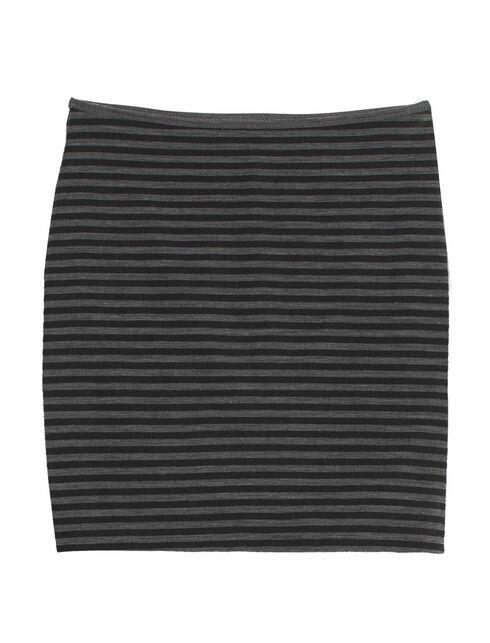 Tsveti Skirt Stripe