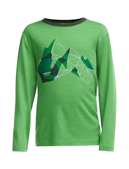 Tech Long Sleeve Crewe Glass Mountain