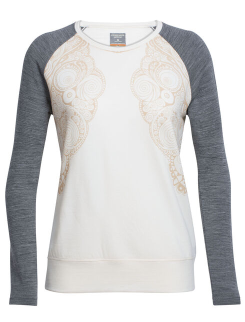 Zoya Long Sleeve Crewe Zen Mirror