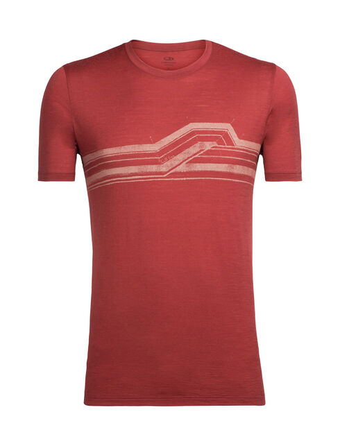 Tech Lite短袖圆领上衣(Seismic Stripe)