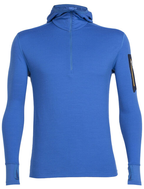 Compass Long Sleeve Half Zip Hood
