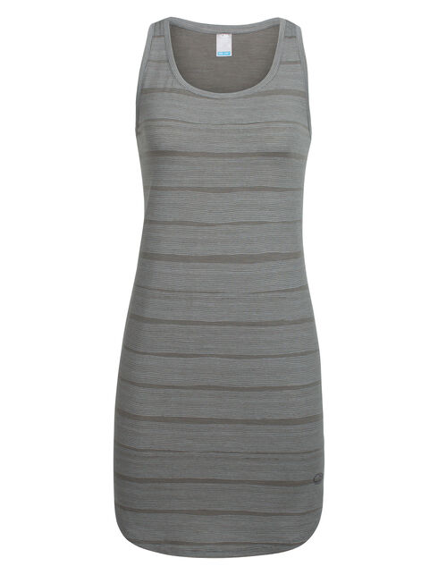 Cool-Lite™ Yanni Tank Dress Combed Lines