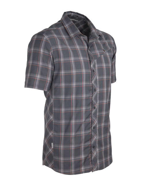 Departure Short Sleeve Shirt Plaid