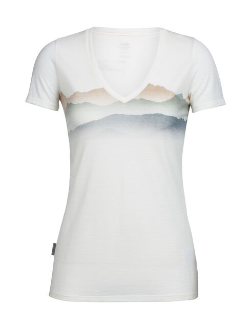 Tech Lite Short Sleeve V Misty Horizon