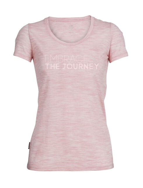Tech Lite Short Sleeve Scoop Embrace the Journey