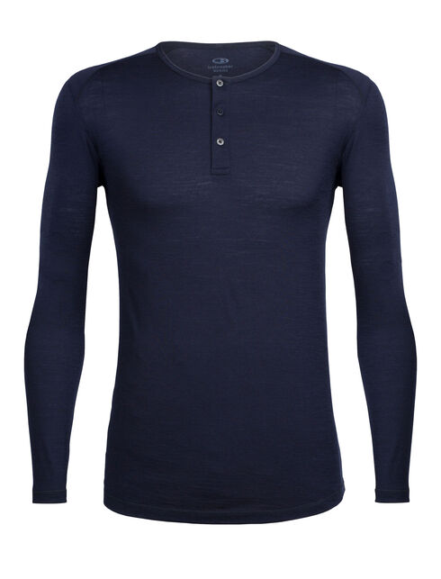 City Lite Long Sleeve Henley