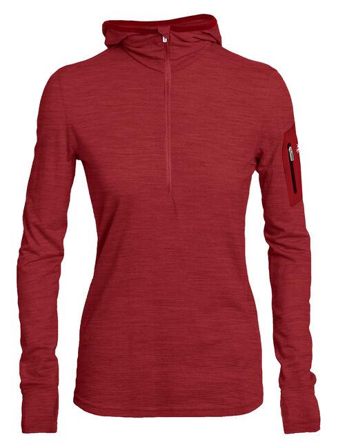 Terra Long Sleeve Half Zip Hood