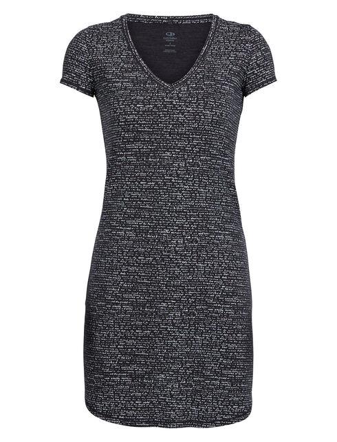 Cool-Lite Yanni Short Sleeve V Dress Windstorm