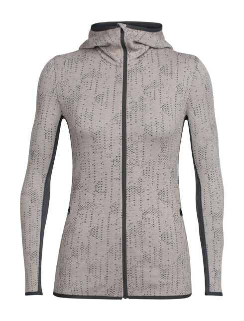 Women's Away Long Sleeve Zip Hood Showers