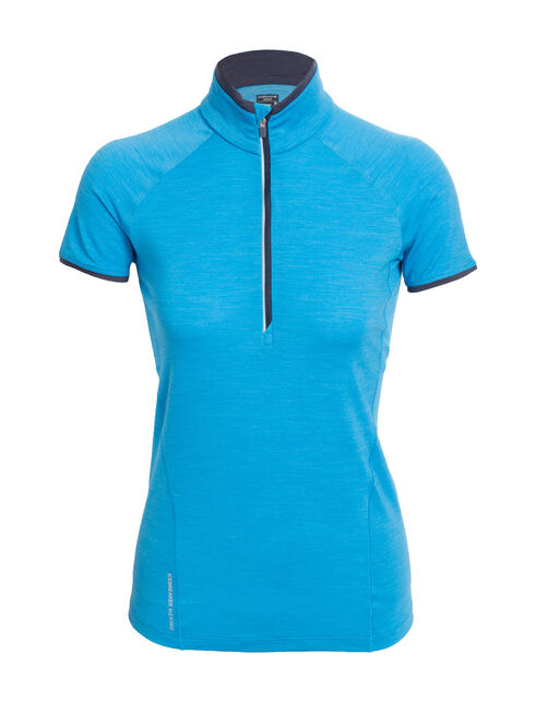 Cool-Lite™ Spark Short Sleeve Half Zip
