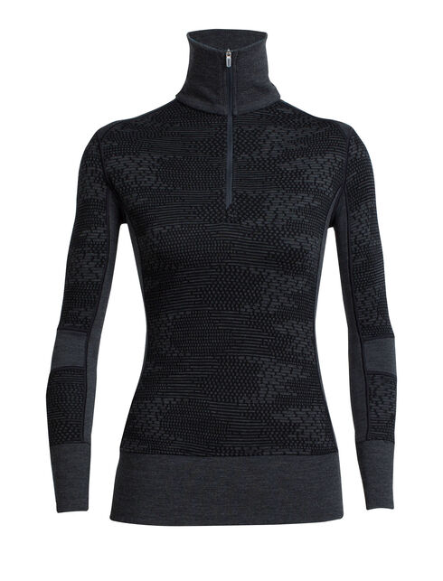 Affinity Long Sleeve Half Zip Flurry